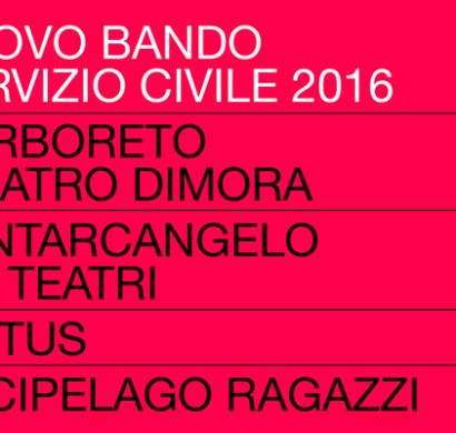 Servizio Civile - Bando 2016