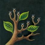Il seme pensieroso L'arboreto Edizioni illustrazione di Marco Campana