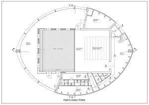 Planimetria Teatro Dimora p.terra